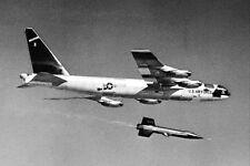EP-062 B-52 MOTHERSHIP IN FLIGHT- 8X10 NASA PHOTO TAIL NUMBER 008
