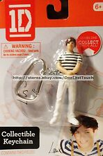ONE DIRECTION Collectible LOUIS Figurine CARABINER/KEYCHAIN 1D (carded) Ages 6+
