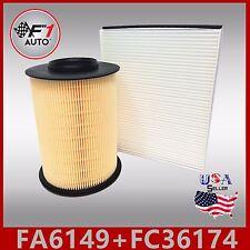 FA6149 FC36174 PREMIUM ENGINE & CABIN AIR FILTER for 13-18 ESCAPE 1.5 1.6 & 2.0L
