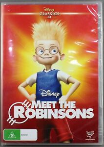 "MEET THE ROBINSONS (DVD, 2016) BRAND NEW / SEALED ""REGION 4"""