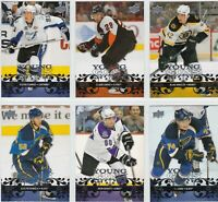 2008/09 UD Series 1 Young Guns Rookie Cards  U-Pick + FREE COMBINED SHIPPING!