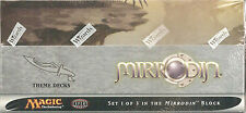 MTG Magic the Gathering - Factory Sealed - Mirrodin Theme Decks Box