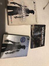Uncharted Nathan Drake edición especial de la colección PS4 STEELBOOK Artbook Raro