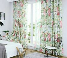 Window Curtains Sheer Treatments Floral Patterned Home Decoration Drapes Curtain
