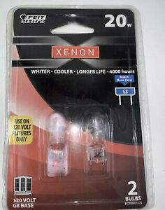 XENON 20w G8 Base 2 Bulbs Feit Electric NEW