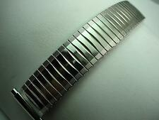 """JB Champion Mens Vintage Expansion Watch Band Stainless 17mm-22mm 11/16""""-7/8"""""""