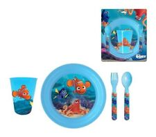 FINDING DORY 4-PIECE DINNER SET : Great for Boys and Girls NEW