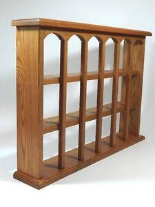 Vintage Wood Wall Display Shelf