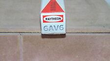 VINTAGE RAYTHEON  RADIO TUBE TELEVISION TUBE USED 6AV6 NOT TESTED