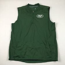 Nike New York Jets - Green Sleeveless  Pullover (2XL) - Used