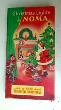 Vintage Christmas Tree Lights 1930's Santa Claus Noma Country Store Great Cover