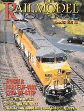 Railmodel Journal Mar.2001 Auto Racks DCC SOO Rock Island Monon RR EMD SD40-2