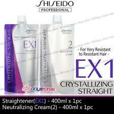 Shiseido Straight EX1 + Neutralizer Cream very resistant to resistant hair perm