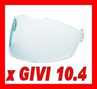 VISIÈRE GIVI ORIGINAL CASQUE JET H10.4 CLEAR Z1099TR ANTI-RAYURES
