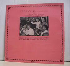 "33 tours CHICK WEBB Orchestra ELLA FITZGERALD LP 12"" STOMPIN SAVOY Jazz MUSIDISC"