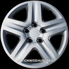 "17"" Set of 4 Wheel Covers Snap On 5 Spoke Full Hub Caps fit R17 Tire & Steel Rim"