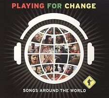 Playing for Change: Songs Around the World [Slipcase] by Various Artists (CD, Ap