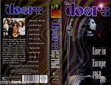 "VHS - "" The DOORS Live in Europe 1968 """