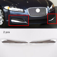 2pcs Front Left Right Side Vent Grille Moulding Trim Fit For Jaguar XF 2012-2015