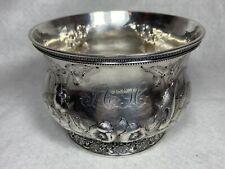Antique New Orleans LA Hyde Goodrich Coin Silver Bowl Adolphe Himmel? RARE 10+Oz