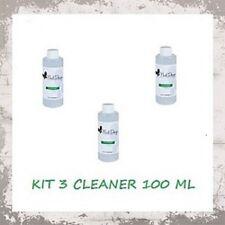 X 3 CLEANER SGRASSANTE 100 ML  SGRASSATORE UNGHIE SMALTO SEMIPERMANENTE NAIL