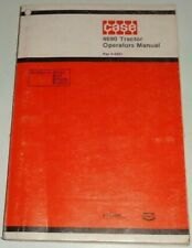 Case 4690 Tractor Operators Maintenance Owners Manual Original! 9-6801 7/79