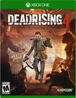 NEW Dead Rising 4 (Microsoft Xbox One, 2016)