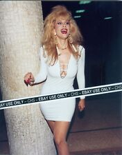 """RHONDA SHEAR SEXY!! COLOR CANDID 8x10 PHOTO HOT BUSTY POSE!! """"UP ALL NIGHT"""""""