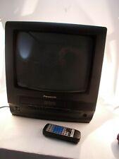 Panasonic Omnivision PV-C1320 TV/VCR Combo Retro Gaming TV With Remote