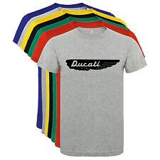 Camiseta Ducati alas motocicletas Hombre varias tallas y colores a019