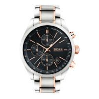 Men's Hugo Boss Grand Prix Silver Chronograph Watch HB1513473