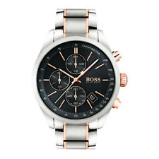 Men's Hugo Boss Grand Prix Silver Chronograph Watch HB1513473