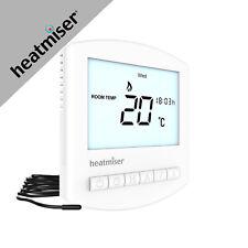 Underfloor Heating Heatmiser (PRT-E-V3) white Thermostat 4 All Heating Systems