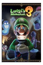 "Luigi's Mansion 3 Gaming Poster  24x36"" Official Licensed |UK Seller"