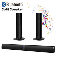 Soundbar Bluetooth Wireless TV 4 Speaker 3D Sound Bar Home Theater Subwoofer RCA