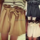 Elastic Pants High Waist Women Summer Mini Shorts Korean Style Beautiful NC89