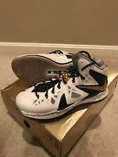 Nike Lebron X Elite 10 Sz 9 south beach Big Bang heat gold championship pack 11