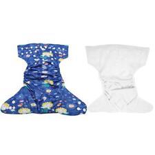 Adjustable Reusable Infant Swim Diaper Washable Pocket Cloth Hook Loop HOT
