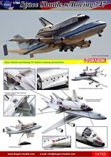 Dragon 1/144th escala Boeing 747 & NASA lanzadera espacial modelo kit #14705