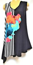 TS top TAKING SHAPE plus sz XL / 24 Tamara Tunic stretchy vibrant NWT rrp$120!