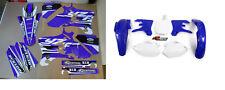 New YZF 250 450 03 04 05 FLU PTS4 Graphics Sticker & Plastic Kit Plastics