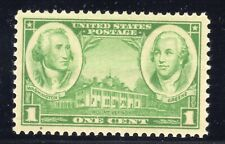 US STAMP #785  --- 1c ARMY/NAVY --  XF   -  MINT - GRADED 90