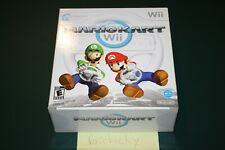 Mario Kart Wii Wheel Bundle (Nintendo Wii) NEW FACTORY SEALED, MINT CONDITION!