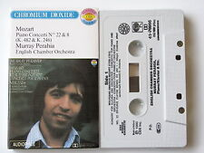 MURRAY PERAHIA . MOZART . PIANO CONCERTI  N° 22 & 8 .TAPE . CASSETTE . K7 AUDIO