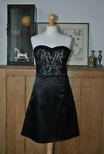 LADIES BE BEAN BLACK CORSET PARTY DRESS NEW SIZE UK 10