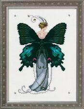 10% Off Nora Corbett/Mirabilia Counted X-stitch chart-Miss Black Swallowtail