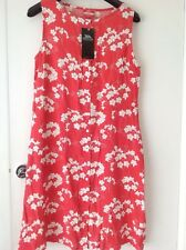 TRESPASS, SUMMER DRESS,SIZE  L, ,HIBISCUS FLOWER,