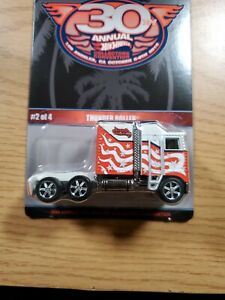 Hot Wheels 2016 30th Annual Collectors Convention Thunder Roller Low# 397/2600
