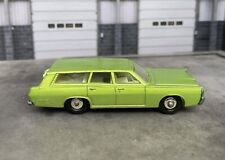 Vintage Matchbox Lesney Lime Green Mercury Commuter Wagon No. 55 or 73 w/ dogs