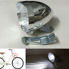 Bicycle Headlight 3 LED Retro Vintage Bike Headlamp Front Light Cycling Fog Lamp